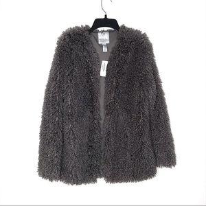 NWT Full Tilt Fur jacket